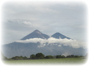 Scenery in Guatemala